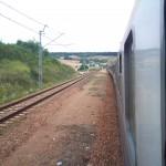 Zug nach Warschau