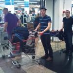 Einkaufen in Warschau 2011