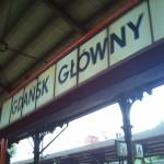 Gdansk - Danzig Bahnhof 2011