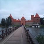 Burg Trakai in Litauen 2011