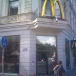 Der erste McDonalds in Riga