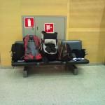 Am Flughafen in Helsinki 2011