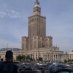 Kulturpalast in Warschau 2011