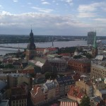 Blick auf Riga von der St. Peters Curch, 2011