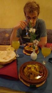 Abendessen in Granada
