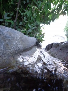 Wassewege in der Alhambra