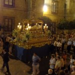 Mariähimmelfahrt Prozession in Cordoba