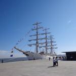 Schiff der Argentinischen Marine in Lissabon