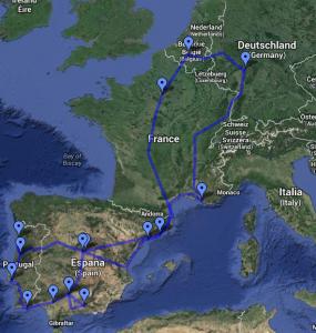 Interrail Tour 2012