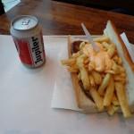 Mittagessen im Fritland